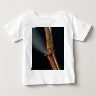 Camiseta Para Bebê Tubulação de cobre com vapor