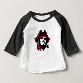 Camiseta Para Bebê Tubulação de fumo do corsário retro