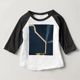 Camiseta Para Bebê Tubulações de cobre com um escape e um vapor