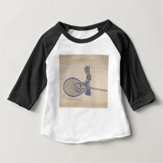 Camiseta Para Bebê Tughra (assinatura oficial) da sultão Süleiman
