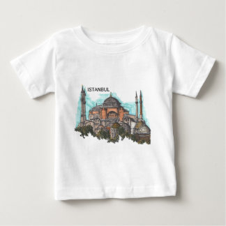Camiseta Para Bebê Turquia Istambul Hagia Sophia (por St.K)