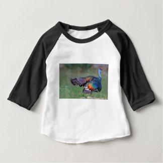 Camiseta Para Bebê Turquia Ocellated em Guatemala