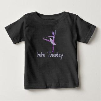 Camiseta Para Bebê Tutu terça-feira