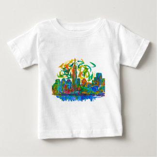 Camiseta Para Bebê Twirl de Manhatten