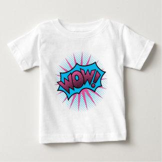 Camiseta Para Bebê UAU! Design de texto