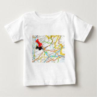 Camiseta Para Bebê Udine, Italia