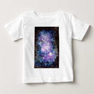 Camiseta Para Bebê UFO em trabalhos de arte do espaço