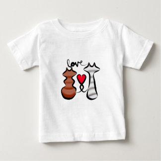 Camiseta Para Bebê Um amor do forro