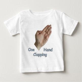 Camiseta Para Bebê Um aplauso de mão AMAZON