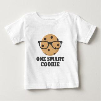 Camiseta Para Bebê Um biscoito esperto