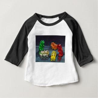Camiseta Para Bebê Um bloco dos doces