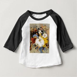 Camiseta Para Bebê Um circo dos dançarinos