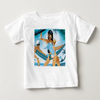 Camiseta Para Bebê Um dia das férias