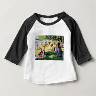 Camiseta Para Bebê Um domingo à tarde na ilha do La Jatt grandioso
