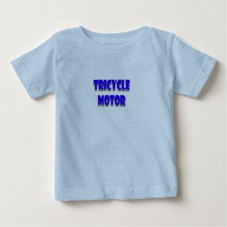 Camiseta Para Bebê Um feliz, bonito, engraçado, bebé