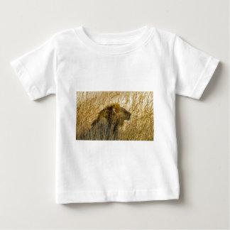 Camiseta Para Bebê Um leão espera, Zimbabwe África