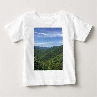 Camiseta Para Bebê Um Mountain View