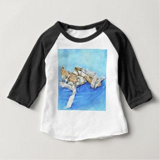 Camiseta Para Bebê Um par de calçados de balé