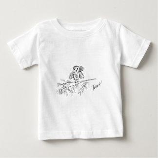 Camiseta Para Bebê Um pássaro, o Tweet original