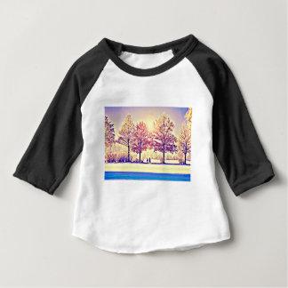 Camiseta Para Bebê Um stroll nas madeiras
