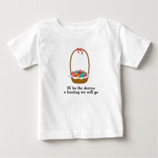 Camiseta Para Bebê Uma caça nós iremos