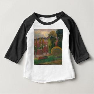 Camiseta Para Bebê Uma fazenda em Brittany - Paul Gauguin