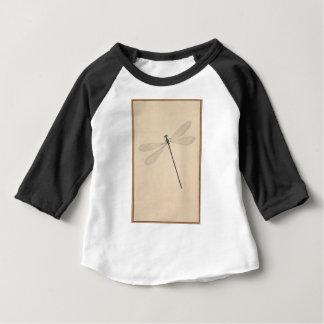 Camiseta Para Bebê Uma libélula, por Nicolaas Struyk, cedo 18o C.