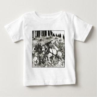 Camiseta Para Bebê Uma página PODEROSA 14 da ÁRVORE