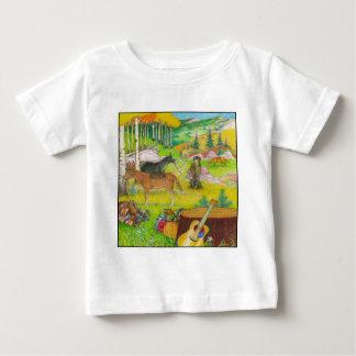 Camiseta Para Bebê Uma página PODEROSA 56 da ÁRVORE