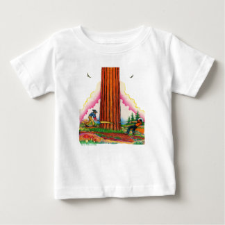 Camiseta Para Bebê Uma página poderosa 8 da árvore