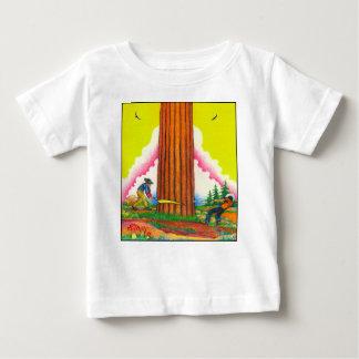 Camiseta Para Bebê Uma página PODEROSA 8 Orig da ÁRVORE