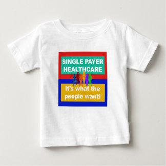 Camiseta Para Bebê Único pagador Cuidados médicos-é o que as pessoas