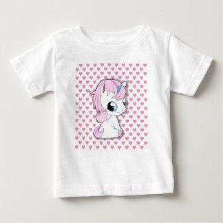 Camiseta Para Bebê Unicórnio do bebê