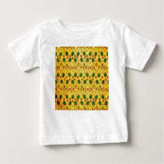 Camiseta Para Bebê Unicórnio tropical da ilha