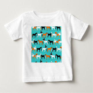 Camiseta Para Bebê Unicórnios do Dia das Bruxas