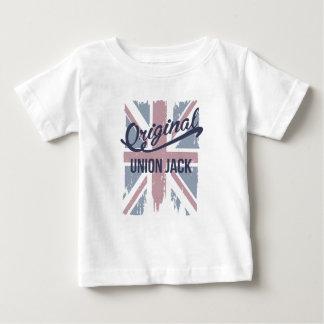 Camiseta Para Bebê Union Jack original
