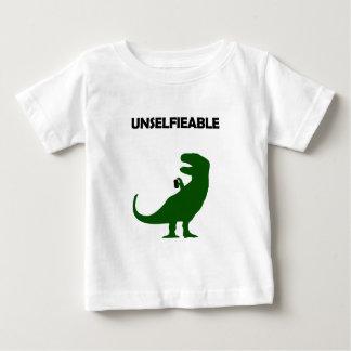 Camiseta Para Bebê Unselfieable T-Rex