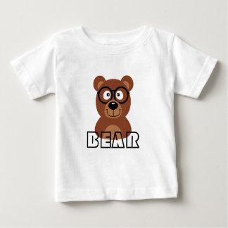 Camiseta Para Bebê Urso com vidros