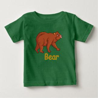 Camiseta Para Bebê Urso da ilustração do vetor
