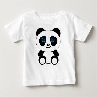 Camiseta Para Bebê Urso de panda pequena bonito