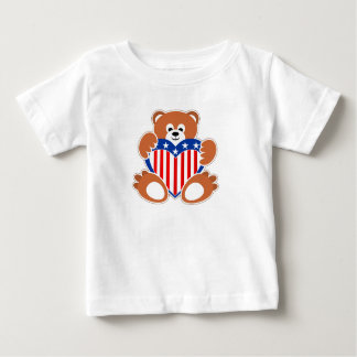 Camiseta Para Bebê Urso de ursinho