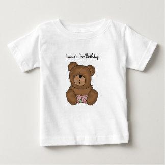 Camiseta Para Bebê Urso de ursinho com o t-shirt da criança das