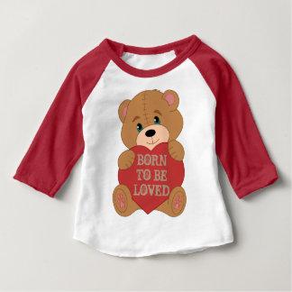 Camiseta Para Bebê Urso de ursinho feito sob encomenda bonito