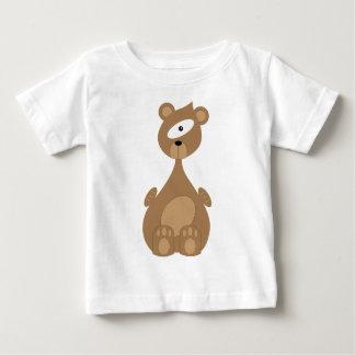 Camiseta Para Bebê Urso do espaço
