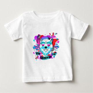 Camiseta Para Bebê Urso musical