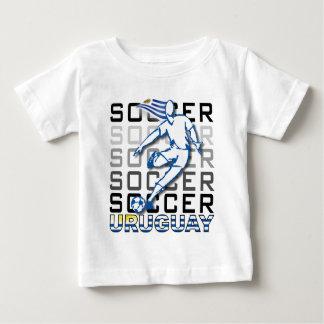 Camiseta Para Bebê Uruguai Copa América 2011