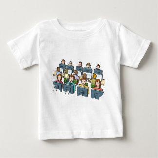 Camiseta Para Bebê Usuários do computador