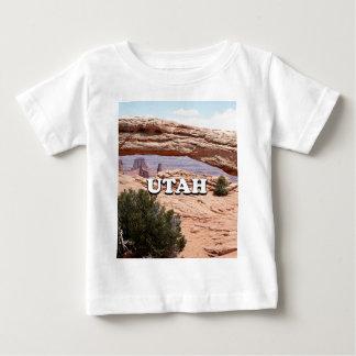 Camiseta Para Bebê Utá: Arco do Mesa, parque nacional de Canyonlands,