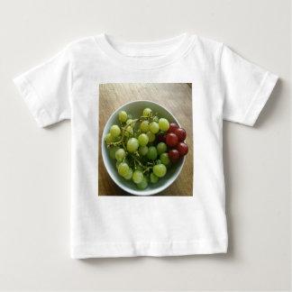 Camiseta Para Bebê uvas