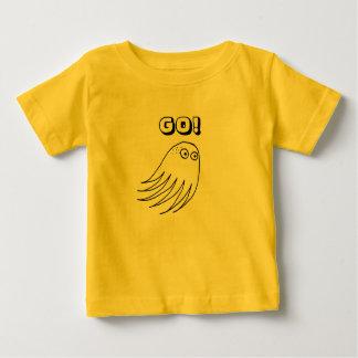 Camiseta Para Bebê VÁ! Criatura do mar da natação